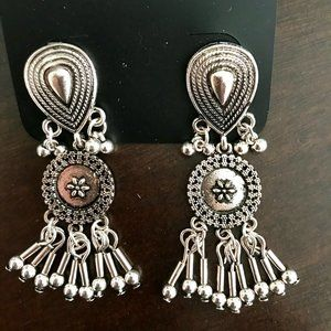 Gorgeous Rustic Antique Style Earrings